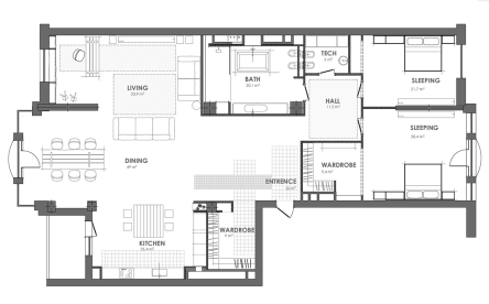 """16th"" apartment 