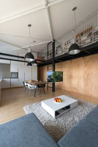 Loft Apartment in Slovakia | RULES Architects